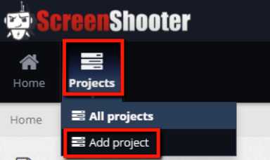 add project
